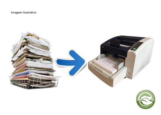 Empresa de digitalização de documentos